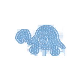 Maxi plade - transp.  skildpadde
