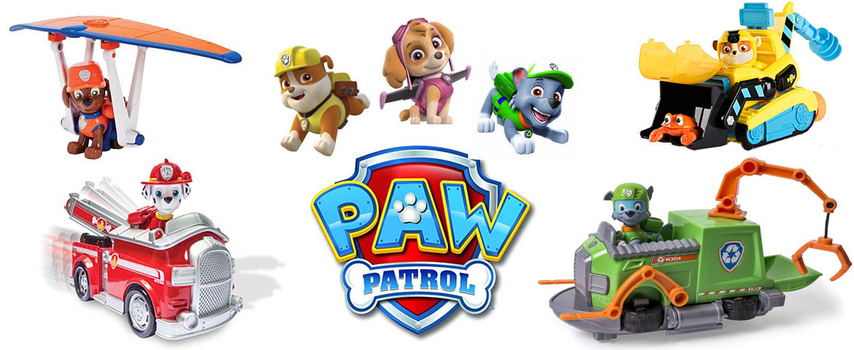 Paw Patrol - Køb det hos Thranes legetøj